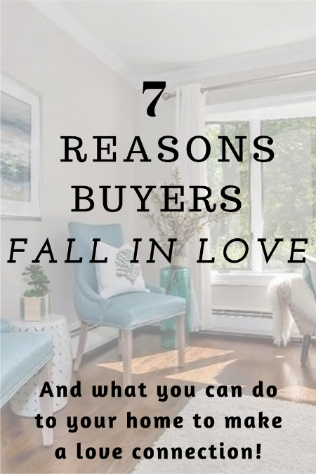 Why home buyers fall in love with a home