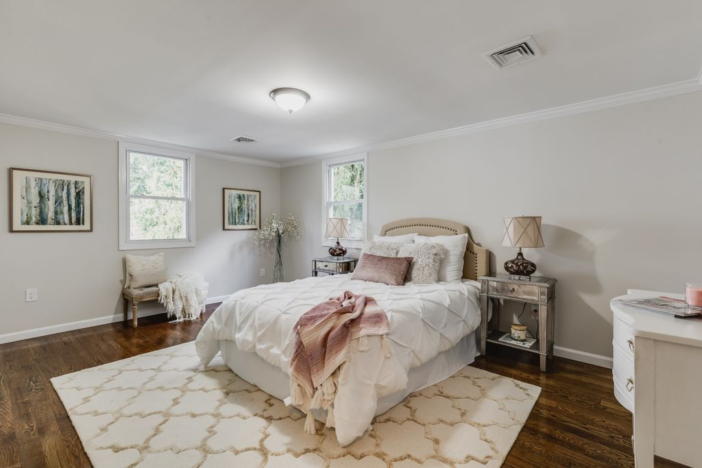Making a romantic, soft and inviting bedroom will invite offers